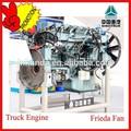 la promoción de sinotruk camiones pesados de motor diesel en chile