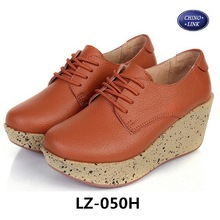 Fashion leisure ms comfortable wedge heel shoe women's shoes