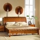 Super king size bedroom furniture teak wood bed