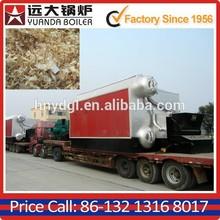 drying wood on kiln dryer used steam 2000 kg/Hr wood shaving fuel boiler
