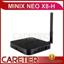 new 2014 Amlogic S802-H android tv box minix neo x8-h Bluetooth Version US/EU/UK Optional Compatible Application