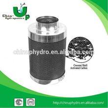 plant grow carbon filter /active carbon air filter /air filter carbon for hydroponics plant grow