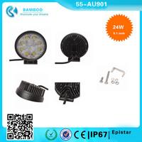 4X4 4WD 5.1 Inch 24 W Epistar 6500K Portable LED Spot Work Lamp Off Road 30 Degree Waterproof Spot light for boat
