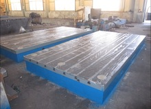 Calibrating Inspection Machine Skiving Surface Cast Iron Round Work table