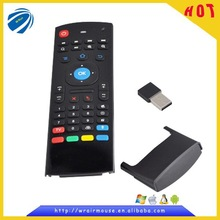 2014 factory supply directly universal remote control receiver with mini keyboard for pc desktop laptop etc