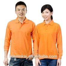 blank plain polo shirt cotton elastane from china