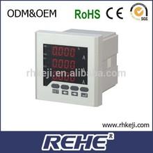 2014 NEWEST sell analog output power ac 80v-270v amper meter RS485 modbus power quality data 60hz amper meter