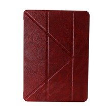 case for ipad air 2 pu leather with stand function factory price