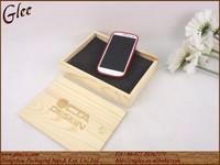 Handmade wooden phone case