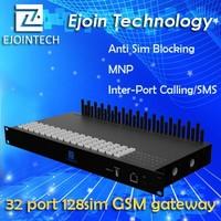 High Quality Ejointech ACOM 532-128 GoIP gateway 32 port 128 sim voip phone adapter skype