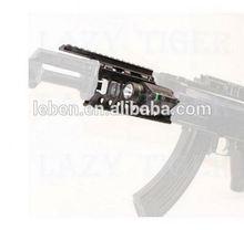 RifleScope - Laser sight and LED Flashlight