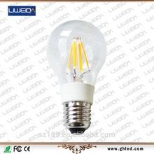 90lm/w 2W 3W 4W 100-240V E14 led filament bulb,edison led filament bulb