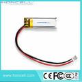 Hcp182030 45 mah 3.7v bateria de lítio recarregável