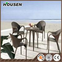 2014 Hot sale 5pcs Aluminum wicker Rattan garden furniture DC8210
