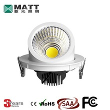 led round shoplight 30w adjustable cob led downlight