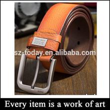 Wholesale leather belt strap Alloy buckle mens brand leather belts