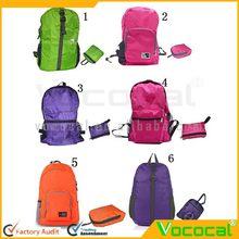 Foldable Waterproof Nylon Backpack Shoulder Bag For Travelling Outdoor Sports Hiking
