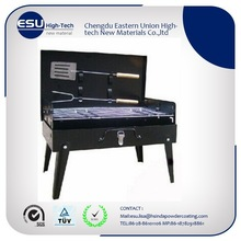 Grill /Barbecue use with high temperature resistent Powder Coating paint