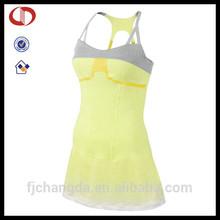 Cannda alta calidad de encargo del deporte visten vestido de tenis