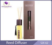 decorative glass bottle reed diffuser SJX-62