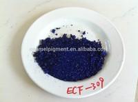 Transparent cover coatings royal blue porcelain vitreous enamel glaze frit for steel ECF-309