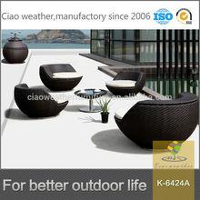 2014 garden furniture outdoor rattan balcony chair set