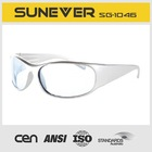 clear sport sunglasses and good quality for cycling