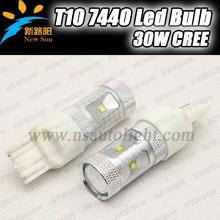 Car accessory T20 7440 6pcs* 5W C REE Led Chips White Car Tail Light Led Bulb Brake Lights LED Car Reversing Turning Lights