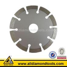 Diamond circular saw blade for dry cutting stone marble