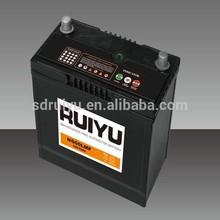 Maintenance free starter battery NS60 MF 12V45AH 46B24R lead acid auto battery