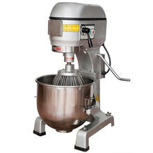 Commerical Electrical Planetary Mixer 50L Bakery Shop Necessary