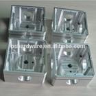 Raw aluminium CNC machining milling block