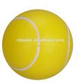 2014 vendas quentes promocional PU stress bola de tênis / alta qualidade da espuma estresse bola de tênis / PU brinquedo bola anti stress presente relativo à promoção