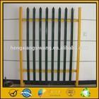 hot sale for zinc steel tubular fence (ISO manufacturer)