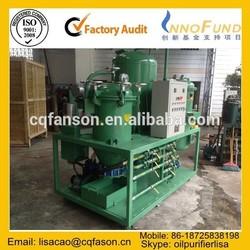 Power-saving ISO Certified filter-free transformer oil dehydrator