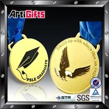 Metal souvenir metal eagle logo emblem or sign medal