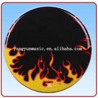 wholesale colored Musical Instruments drum head drum skin printed by customer