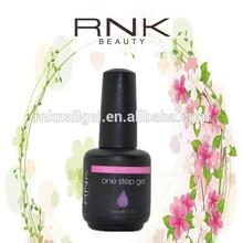 RNK uv gel manufacturer one step gel new style uv gel 3 in 1uv gel long lasting uv gel nail salon