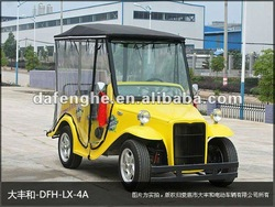 4 seater off-road electric car with aluminum chassis /4 wheel electric vehicle