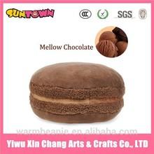 plush stuffed Macaron food toys Mellow chocolate food shaped pillow