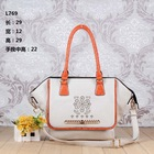 Hot new 2014 wholesale style brand women elegant pu leather handbags import from China