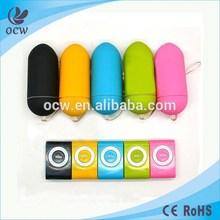 New Colorful Portable Wireless Waterproof MP3 Vibrators Women Sex Toy