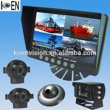 IP69K Waterproof Bus/Truck/Trailer 12V/24V 7 Inch Monitor Rearview Camera For Truck