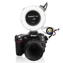 Macro shooting kit Aputure Amaran Halo Ringflash HN100 CRI95+ Digital camera LED ring light flashing light