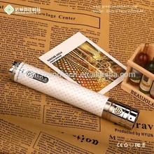 Cool Matte Carbon fiber coated hand feeling adjustable ego vapor gs ego II twist 2200mah battery
