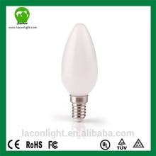2014 Innovative led product 4w Lampade Aluminum Warm White Chandelier E14 C35 Led Candle Light CRI >80