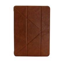 for ipad air 2 leather case with PU and microfiber material