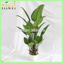 home decorative artificial fake paradisebird flower tree