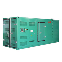 Leading supplier 725 kw container diesel generator for marine and land diesel
