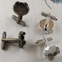 brass business china supplier DIY accessory Metal men custom handmade the mens cuff links